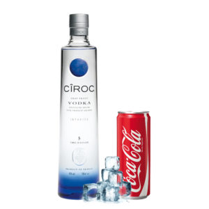 Vodka Ciroc e Coca Cola