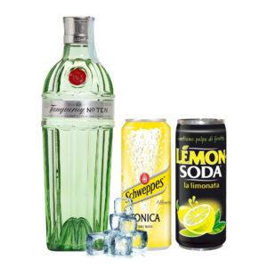 Tanqueary Ten, lemon e tonica